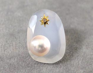 ミルキークォーツ * ほんのり乳白色の優しい水晶