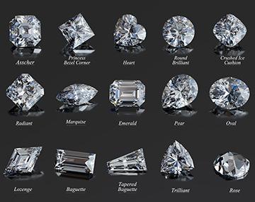 宝石のカットいくつ知ってる?ジュエリー選びに役立つカットの名称